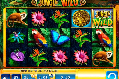jungle wild wms pokie