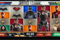 justice league playtech pokie