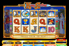 king arthur microgaming pokie