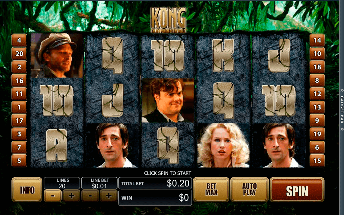 Play King Kong Scratch Online at Casino.com NZ