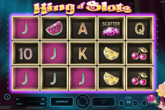 king of slots netent pokie