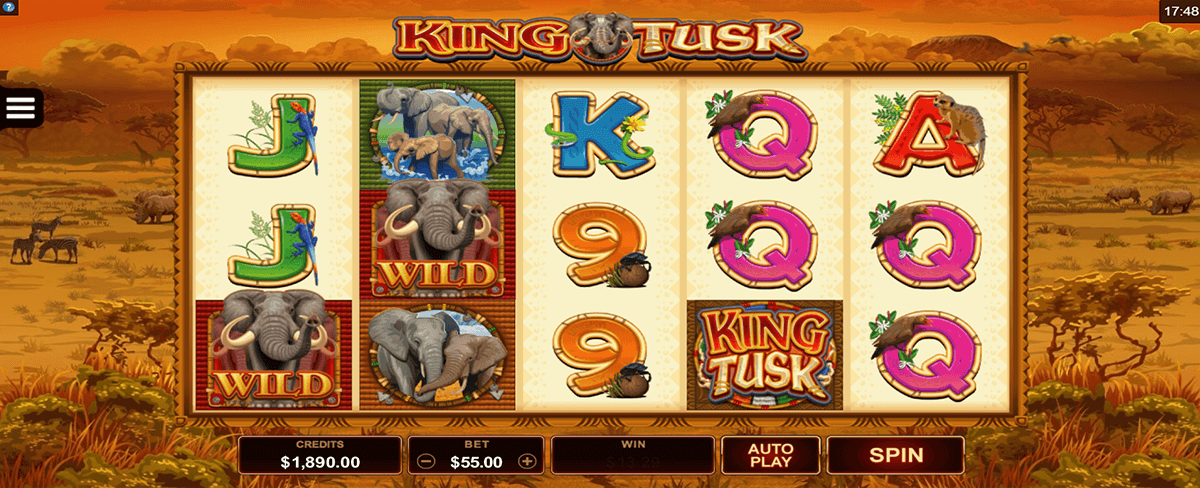 Spiele King Tusk - Video Slots Online