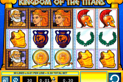 kingdom of the titans wms pokie