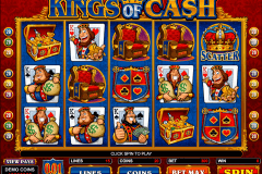 kings of cash microgaming pokie