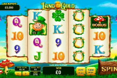 land of gold playtech pokie