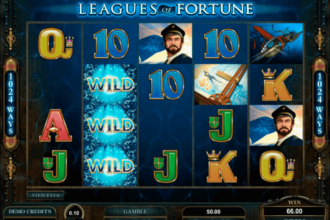leagues of fortune microgaming pokie