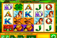 leprechauns fortune wms pokie