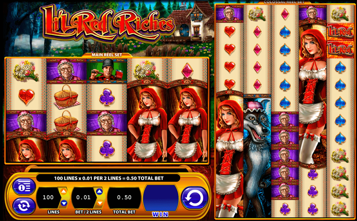 lil red riches wms pokie