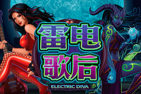 logo electric diva microgaming pokie