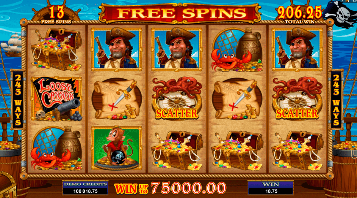 loose cannon microgaming pokie