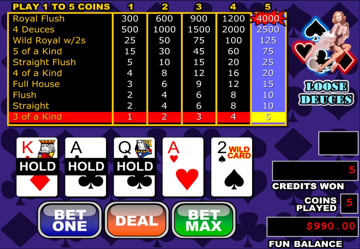 free Deuces Wild Video Poker  Free Video Poker 4U  Play