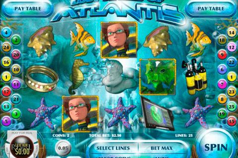 lost secret of atlantis rival pokie