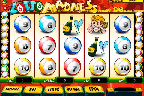 lotto madness playtech pokie
