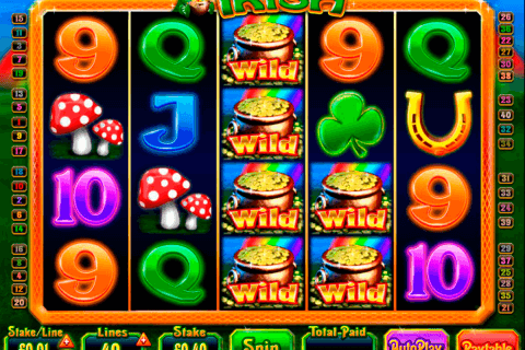 luck o the irish blueprint pokie