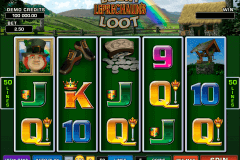 lucky leprechauns loot microgaming pokie
