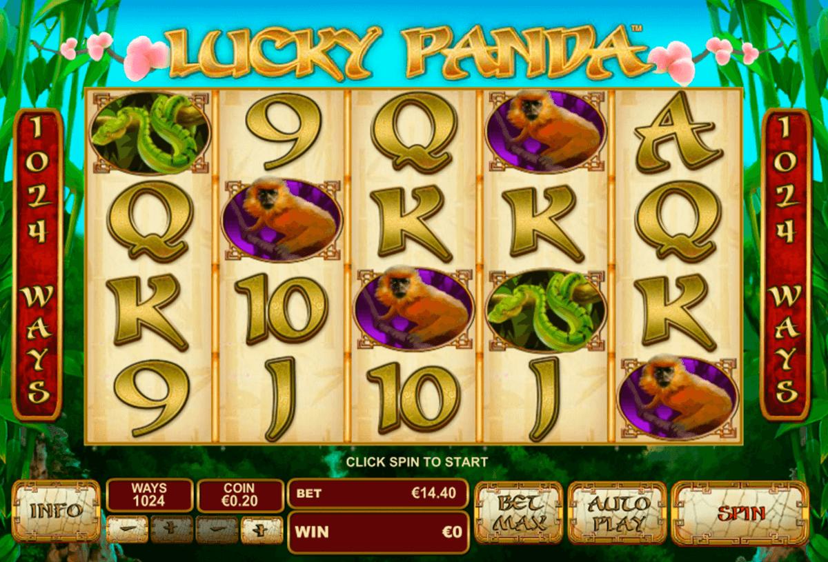 lucky panda playtech pokie