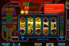 lucky streak microgaming pokie