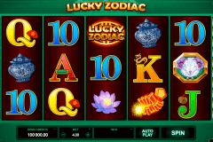 lucky zodiac microgaming pokie