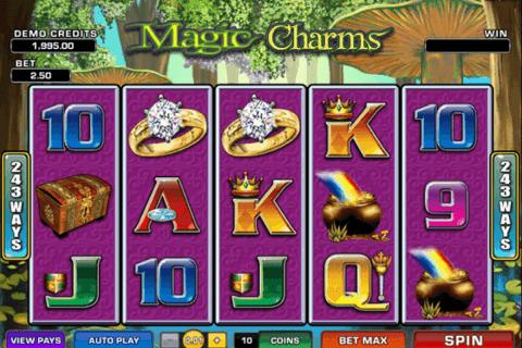 magic charms microgaming pokie