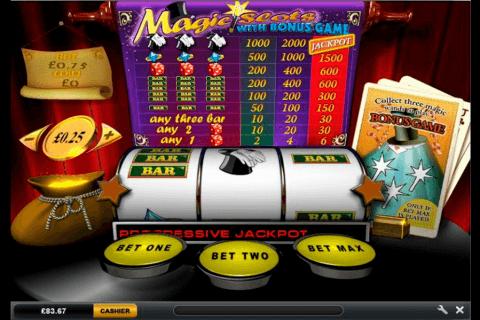 magic slots playtech pokie