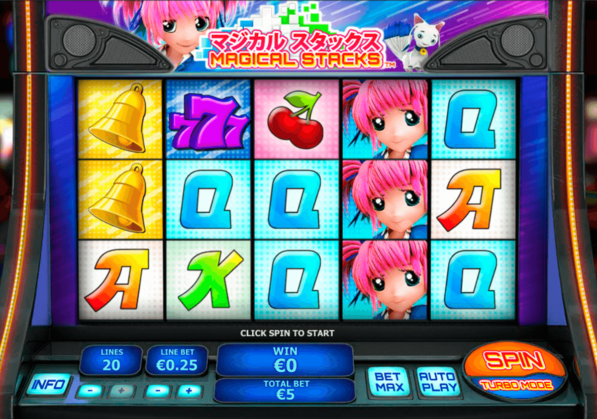 magical stacks playtech pokie