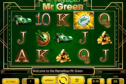 marvellous mr green netent pokie