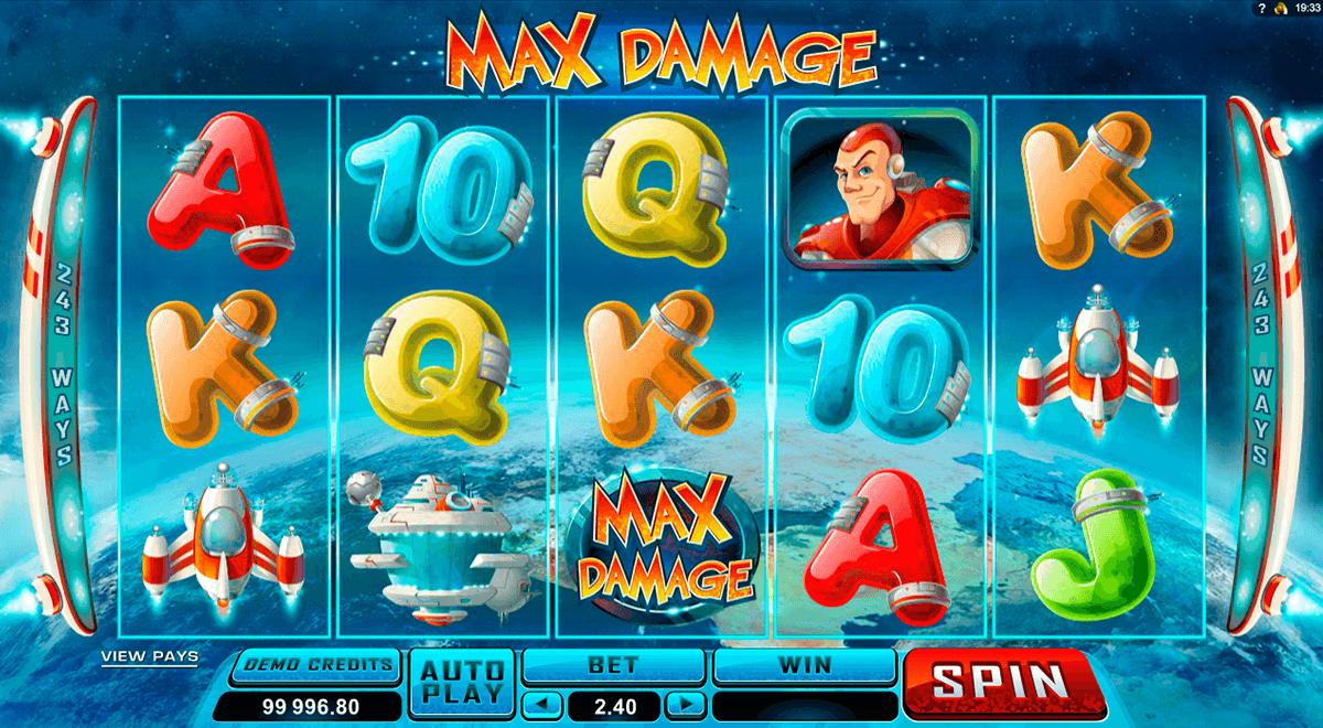max damage microgaming pokie
