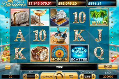 mega fortune dreams netent pokie
