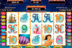 mermaid queen rtg pokie