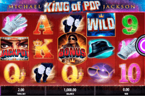 michael jackson king of pop bally pokie