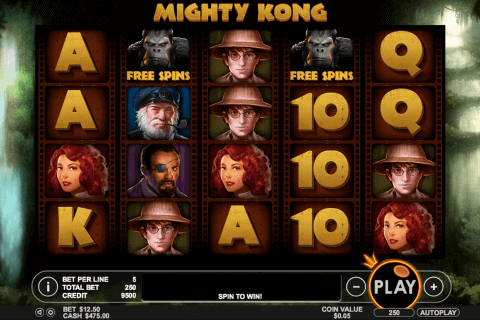 mighty kong pragmatic pokie
