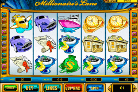 millionaires lane playtech pokie