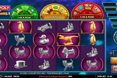 monopoly mega movers wms pokie