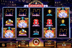 monopoly once around delue wms pokie