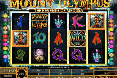 mount olympus microgaming pokie