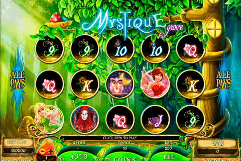 mystique grove microgaming pokie