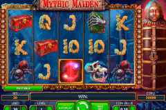 mythic maiden netent pokie