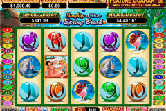 naughty or nice spring break rtg pokie