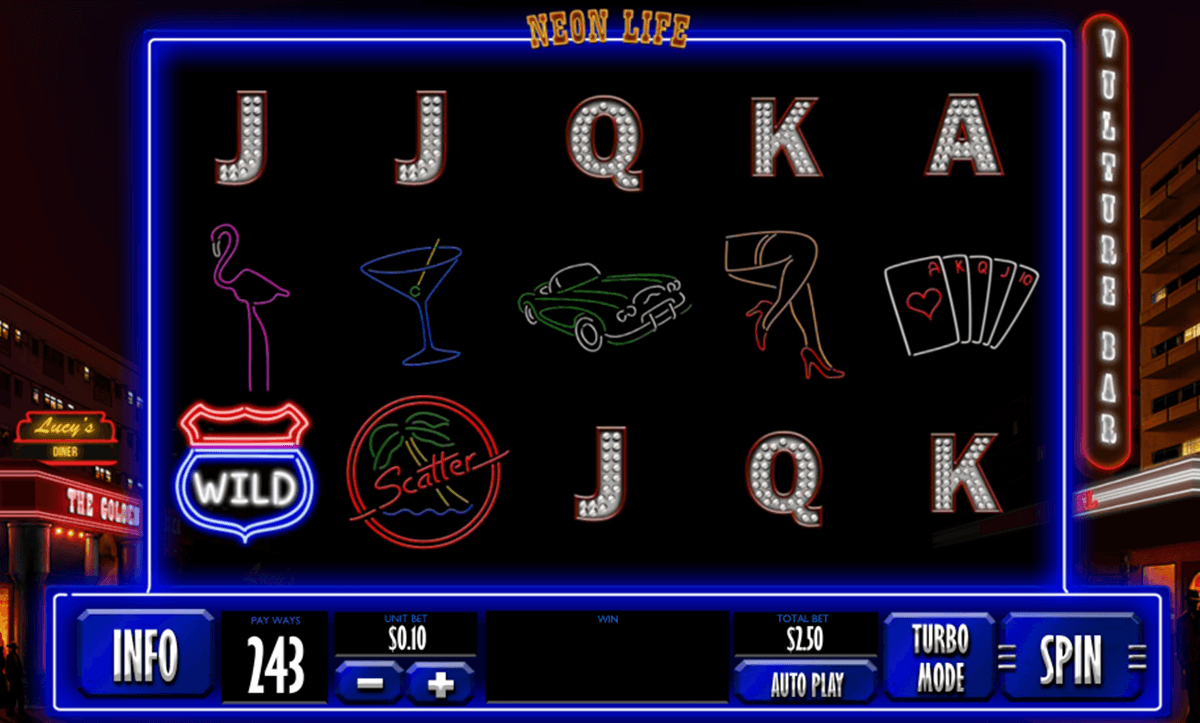New Playtech Slot Neon Life Released