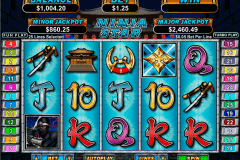 ninja star rtg pokie