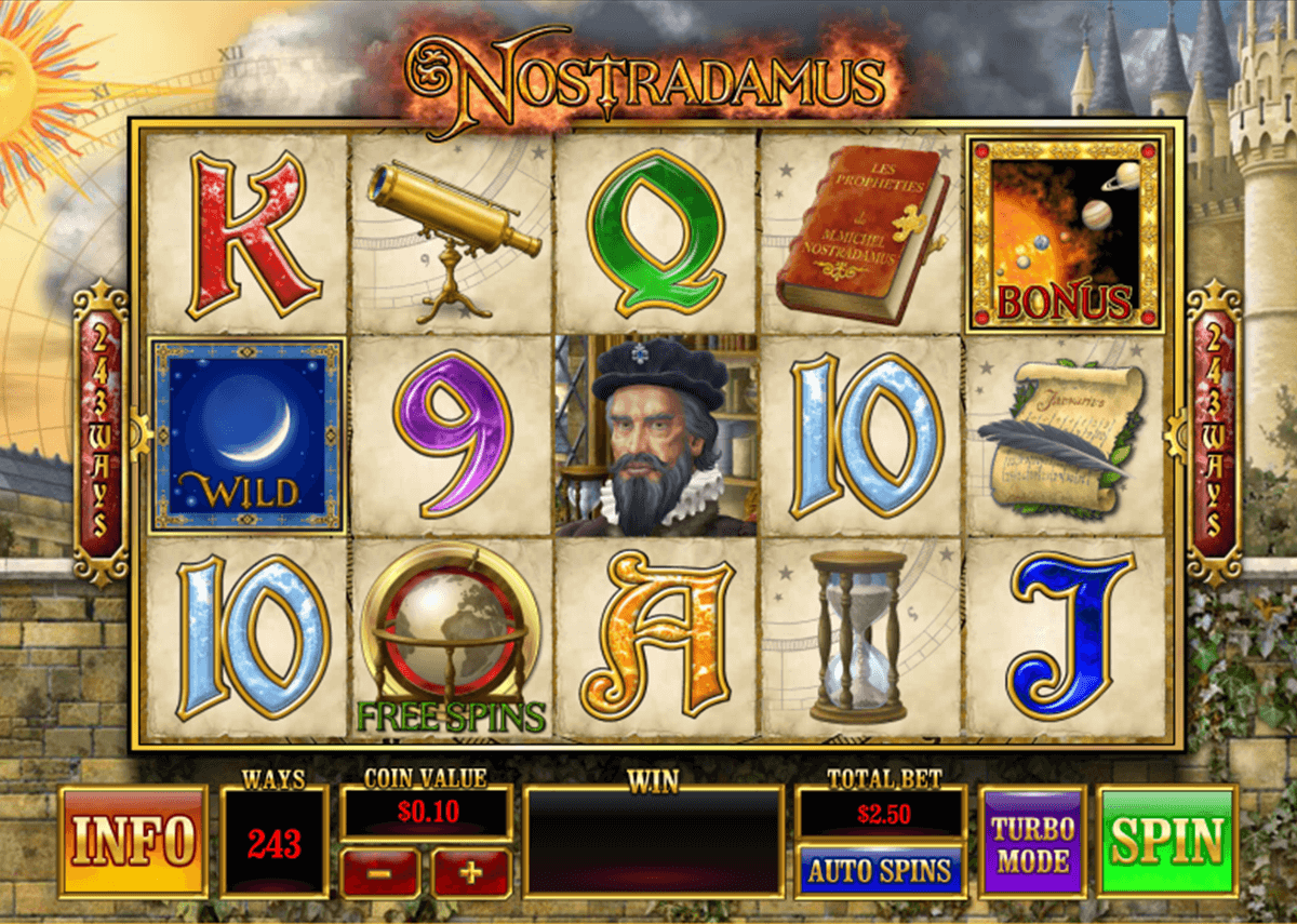 Nostradamus Slot Machine