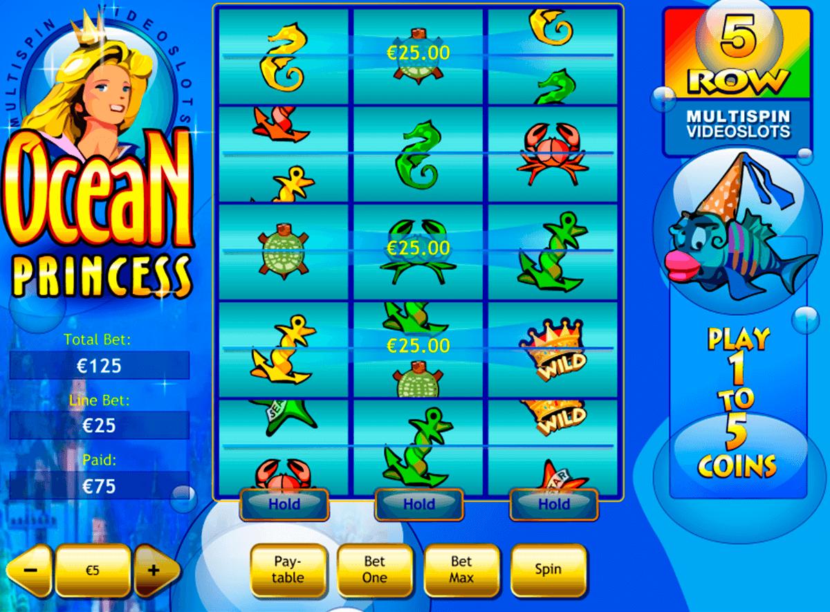 ocean princess playtech pokie