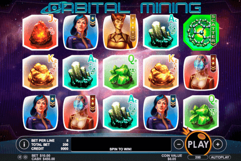 orbital mining pragmatic pokie