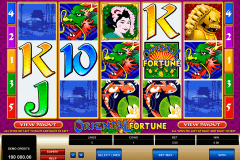 oriental fortune microgaming pokie