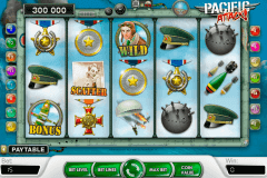 pacific attack netent pokie