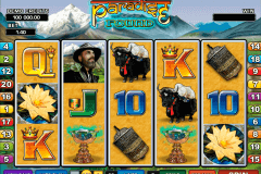 paradise found microgaming pokie