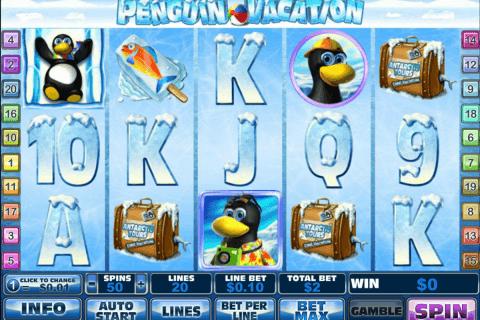 penguin vacation playtech pokie