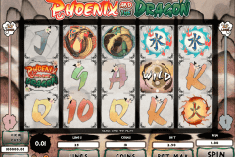 phoeni and the dragon microgaming pokie