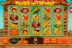 piggies and the wolf playtech pokie
