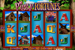 piggy fortunes microgaming pokie
